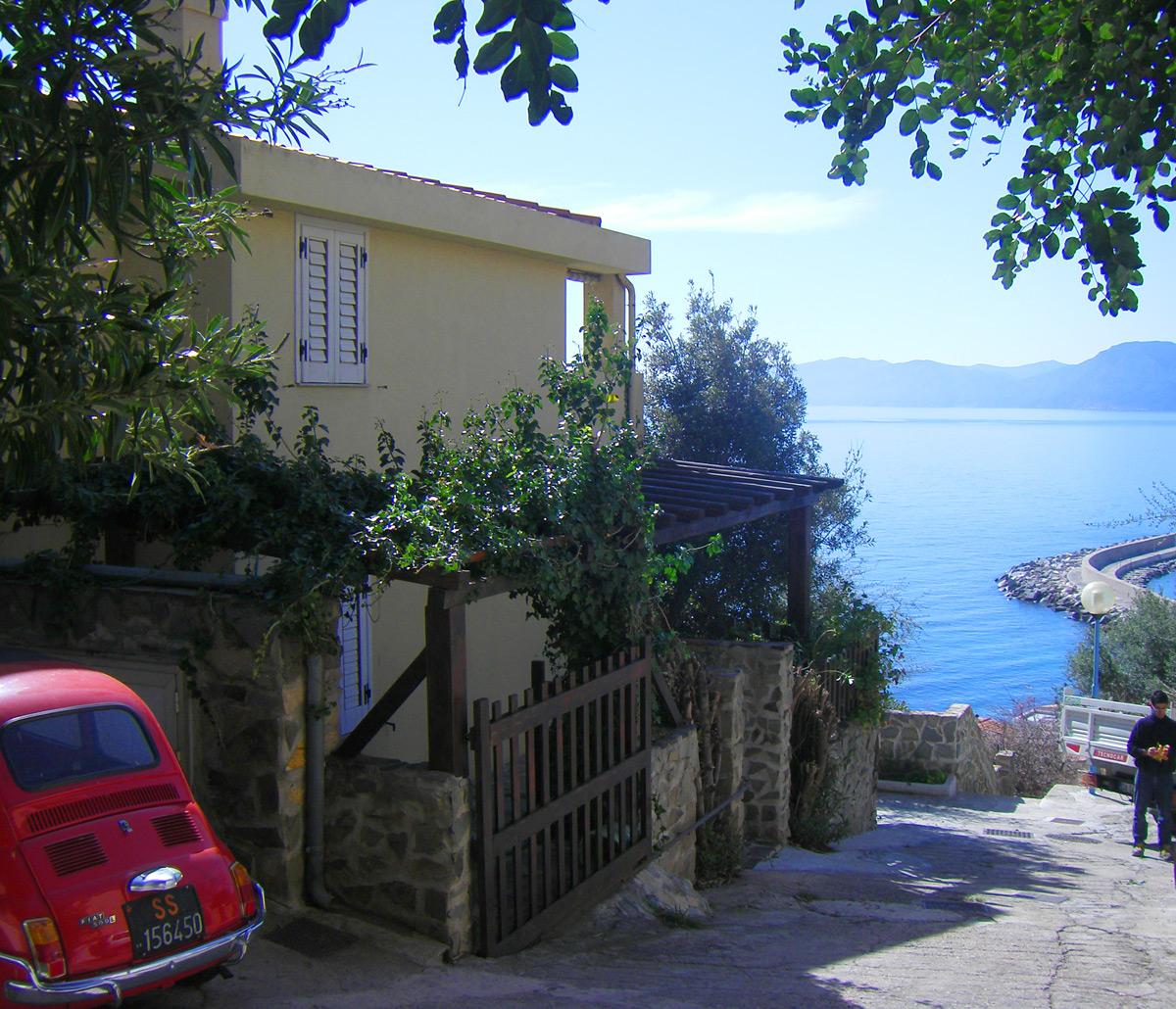 Sardinien villa ferienhaus am meer casa abba irde cala for Haus sardinien