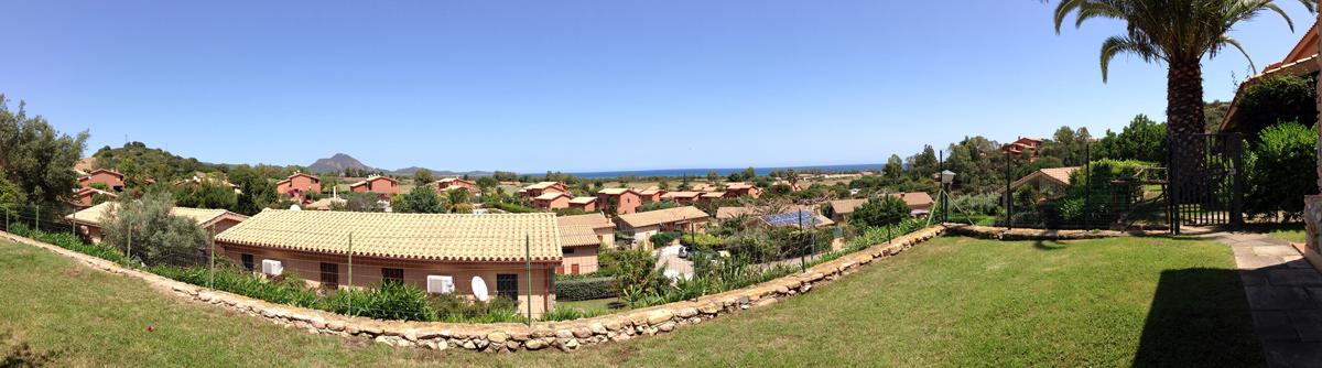 Südsardinien Ferienhaus mit schönem Garten nah am Strand