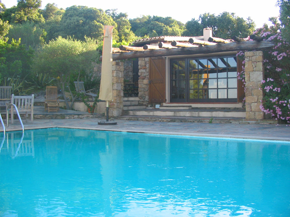 Sardinien alleinstehendes Ferienhaus mit Pool San Teodoro