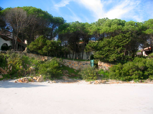 Sardinien alleinstehendes Ferienhaus Casa mirto 10 m vom